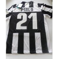 Wholesale New season Juventus 100% Polyester Quick dry Thailand Soccer Jersey from china suppliers