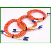 Wholesale OM1 fiber MM Simplex Fiber Optic Patch Cord with Blue LC/UPC connector in 1m length from china suppliers