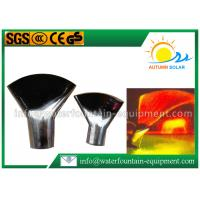 Wholesale Stainless Steel Fountain Nozzles Flat Fan Fountain Nozzle 30-80kpa Pressure from china suppliers
