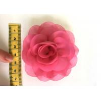 Wholesale Rose Design Handmade Fabric Corsage Flower For UK High Street Shop Brand from china suppliers
