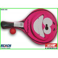 Wholesale Rose Wood Beach Tennis Rackets with Cartoon Printed 33*19*0.5cm from china suppliers