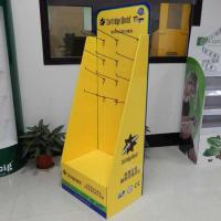Wholesale OEM ISO9001Cartridge cardboard POP Displays Stand with hooks from china suppliers