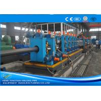 Wholesale Heavy Duty ERW Pipe Mill Machine Worm Gearing Rectangular 165 * 6mm Pipe Size from china suppliers