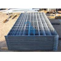 Wholesale Heavy Duty Steel Cattle Guards Corral Fence Panels‎ For Livestock from china suppliers