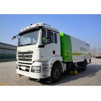 Wholesale Four Broom Sweeper Truck , Street Sweeper Vacuum Truck For Road Cleaning from china suppliers