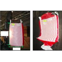 Wholesale Potato ventilated bulk bags 1.5tonne , red breathable PP fabric FIBC Bags from china suppliers