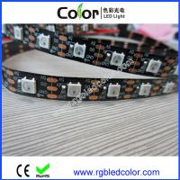 Wholesale 60led per meter black and white pcb apa104 led strip from china suppliers