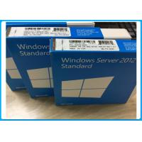 Wholesale 5 CAL 32bit / 64 Bit Windows Server 2012 Retail Box DVD Single Language from china suppliers