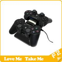 Quality High quality for ps3 move twin charger with blue light for sale
