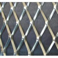 Wholesale Aluminum Expanded Metal Mesh , Diamond Green Expanded Metal Grating from china suppliers