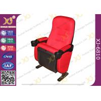 Wholesale High Back Leather / Fabric VIP Cinema Room Seating Home Theater Chairs Durable from china suppliers