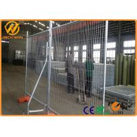 Wholesale Hot Dipped Galvanized Powder Coated Road Safety Fence , Temporary Barrier Fence from china suppliers