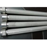 Wholesale High Filtering Accuracy Wire Mesh Filter Element For Water Treatment , SGS Listed from china suppliers