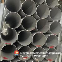 Wholesale Stainless Steel Welded Pipes, ASTM A312 TP304,TP304L,TP304H,TP321,TP316L,ASTM A790 S31803,SCH10, SCH40,6M,11.8M from china suppliers