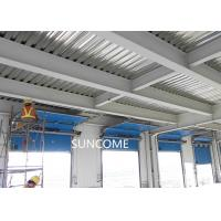 Wholesale Galvanized Steel Frame High Speed Sectional Doors High frequency Motor from china suppliers