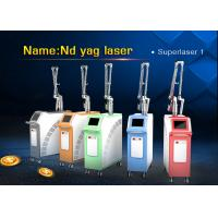 Wholesale 1064 nm / 532nm Tattoo Removal Q Switch ND Yag Laser Machine for Pigment Removal from china suppliers
