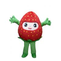 Wholesale Strawberry advertising Mascot Costume,adult plant theme party entertainment costumes from china suppliers