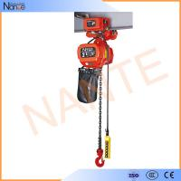 China Explosion Proof Low Headroom electric hoist trolley With Motor Drive Trolley NT Type on sale