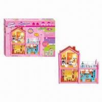 Wholesale 84-piece Plastic Assembling Happy Family Doll House Set Toys, Made of PP, PS Materials from china suppliers