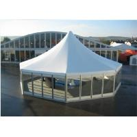 Wholesale Aluminum Material High Peak Tents Glass Sidewalls For Meeting / Exhibition from china suppliers