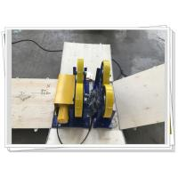 Wholesale CE / ISO PU Coated Bolt Adjustable Light Duty 1000kg Pipe Rotators For Welding from china suppliers