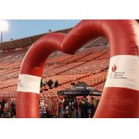 Wholesale Heart Shape Inflatable Arch from china suppliers