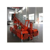 Wholesale Orange Hydraulic Work Platform Steel Structure For Modern Workshops ISO 9001 Approved from china suppliers