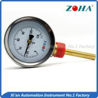 Wholesale Bottom Mount Bimetal Dial Thermometer With Chrome Steel Ring And Case from china suppliers