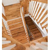 Wholesale natural oiled unfinished oak wood stair tread from china suppliers