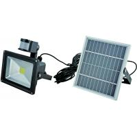 Buy cheap high quality PIR solar 50W flood light IP65 from wholesalers