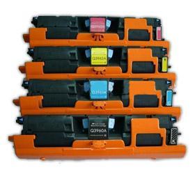 China color toner cartridge HPQ3960A/3961A/3962A/3963A toner on sale