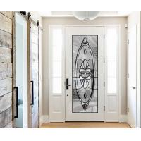 Wholesale natural light  Sound Insulation Inlaid Door Glass For Building precise measurements from china suppliers