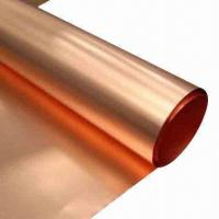 Wholesale Copper Foil for Switchgear Product, Armoring and Mobile Phone Main Board, Communication Cable from china suppliers
