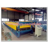 Wholesale Low Price H75 Steel Floor Deck Profile Cold Metal Roll Forming Machine for Russia Market from china suppliers