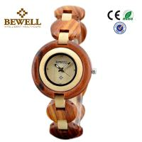 Wholesale Red Sandalwood And Maple womens wooden watches With Japan Miyota 2035 Movement from china suppliers