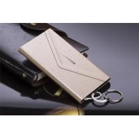 Wholesale 4000mAH Ultra Slim Power Bank Portable Battery Envelope Shape with Leather Cover from china suppliers