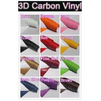 Wholesale 3D Gold Carbon Fiber Vinyl Car DIY Wrap Sheet Roll Film Sticker Decal from china suppliers