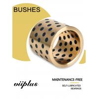 Buy cheap Continuous Cast Bronze Plugged BushinG Centrifugal Castings C86300 SAE 430B Manganese Bronze Double loop groove from wholesalers