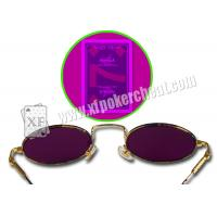 Wholesale Metal Frame Gambling Glasses For Marked Cards / Magic Tricks from china suppliers