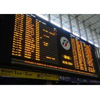 Wholesale Yaham Electronic Airport Flight Information Screen Installed At Station Entrance from china suppliers