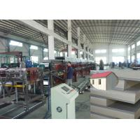 Quality Continuous PU Polyurethane Foam Sheets Sandwich Panel Production Line for sale