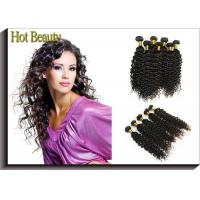 Wholesale Custom Natural Black Remy Virgin Human Hair Extensions Deep Wave from china suppliers