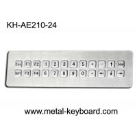 Wholesale IP65 Waterproof Mountable Stainless Steel Industrial Keyboard with 24 Keys from china suppliers