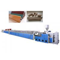 Wholesale Two Screw WPC Extrusion Machine For Window Frame With Siemens Standard Motor from china suppliers
