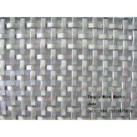 Wholesale Flat Wire Square Wire Mesh for Decorative/Flat Wire Woven Mesh/Decorative Crimped Wire Woven Mesh from china suppliers