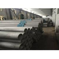 Wholesale ERW Welded Polished Stainless Steel Pipe , Annealed Embossed SS Pipe For Decoration from china suppliers