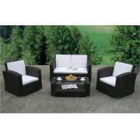 Quality pe rattan outdoor sofa or wicker garden furniture or patio wicker sofa WS-007 for sale
