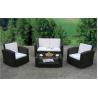 Buy cheap pe rattan outdoor sofa or wicker garden furniture or patio wicker sofa WS-007 from wholesalers