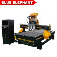 Wholesale China Three Spindles CNC Machine Ele1325-3s Low Noise CNC Router Price from china suppliers