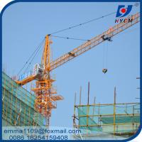Wholesale QTZ160 1600ton.m Topkit Tower Crane 12tons For 220ft Heigh Building from china suppliers
